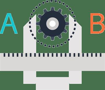 A/B Split testing xpeamedia.no